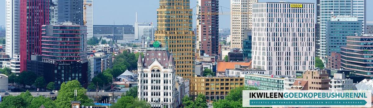 Goedkope partybus huren in Rotterdam