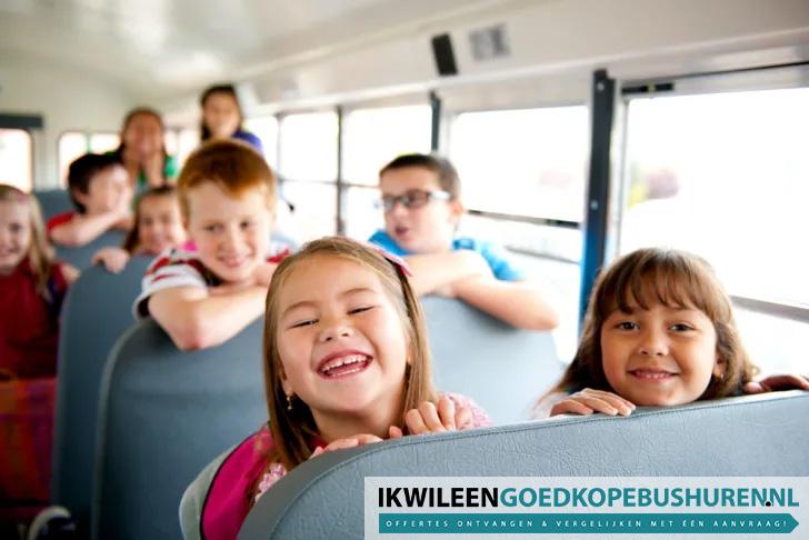 schoolreisje bus huren Amsterdam